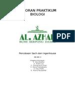 Laporan Praktikum Biologi Sachs