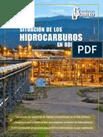 Situacion_hidrocarburos en Bolivia