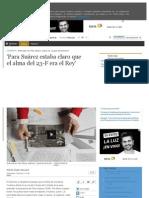 El Mundo. Entrevista Con Pilar Urbano, Autora de La Gran Desmemoria