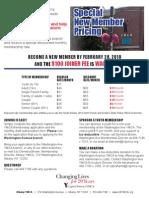 Washington Ave YMCA - New Member Flyer