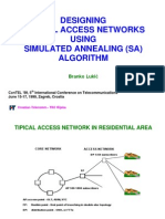 Designing Optical Networks Using Simulated Annealing Algorithm ConTEL99_prezentacija