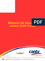 Manual del Usuario módem ZXHN H108N