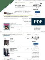Les 1001 Livres Qu'Il Faut Avoir Lus Dans Sa Vie ( Soit-disant! ) - Liste de 57 Livres - SensCritique