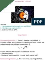 Geophysics ( Geomagnetism )