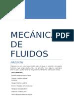 Mecanica de Fluidos-presion