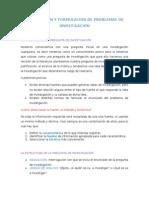 5 Delimitación y Formulación de Problemas de Investigación