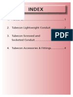 Tubecon Conduit Catalogue