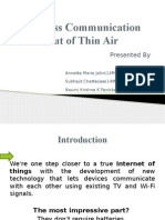 Thin Air Communication