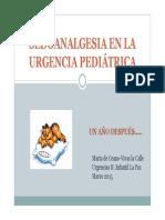 Protocolo sedoanalgesia urgencias