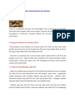 Sumber Makanan Dan Minuman Halal