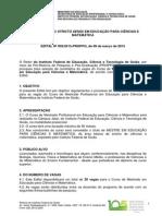 Edital Seleção Aluno Regular - 2015.pdf