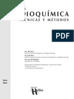 Bioquimica_ Tecnicas y Metodos - Jordi Oliver y Ana Ma Rodriguez (Coautor