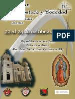 Actas v Simposio Iglesia, Estado y Sociedad
