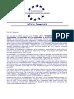 Opatija letter of acceptance boban stojanović