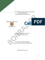 Propuesta de Política Pública CALIAFRO 2025 (Marzo 26)
