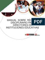 Manual Régimen Disciplinario Para Directores (1)