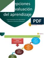 Concepciones en la evaluación del aprendizaje