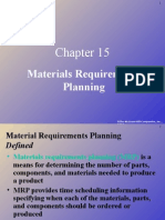 Slides for Chapter 15 MRP