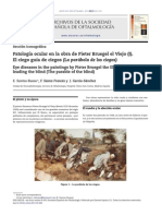 Patología ocular en la obra de Pieter Bruegel el Viejo (I).