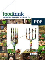 Food Tank's 2014-2015 Annual Report
