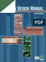 Masonry Design Manual, 4th Ed.sec