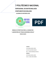 Manual de Laboratorio de Técnicas Microbiológicas