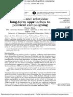 Dean 2001 Polit Campaigning