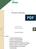 Surrogate Marketing
