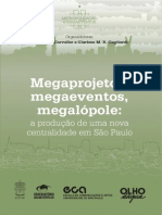 eBook-Megaprojetos Megaeventos Megalopole