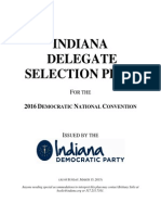 2016 Indiana Democratic Delegate Selection Plan (DRAFT)