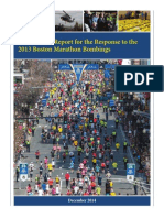 After Action Report for the Response to the 2013 Boston Marathon Bombings