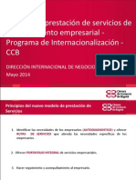 PLAN DE INTERNACIONALIZACION CCB ++