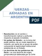 Fuerzas Armadas en Argentina