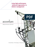 Achieving High Performance With Advanced Approaches to Distribution Management Accenture