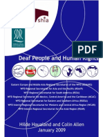 deaf people & human rights reports