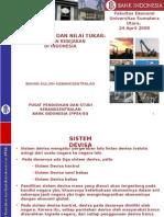 Kebijakan Nilai Tukar Di Indonesia Usu 24apr08