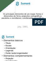 Aula 03 - Principais Elementos - Forma, Dimensões, Projeções, Paralelos, Meridianos e Coordenadas