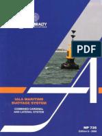 NP735. IALA Maritime Buoyage System, Edition 6, 2006