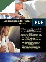 Enseñanzas Del Papa Francisco - Nº 96