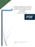 Investigación diferencias entre mujeres y hombres