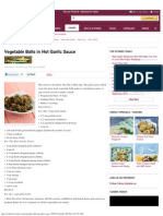 Vegetable Balls in Hot Garlic Sauce - Yahoo Lifestyle India