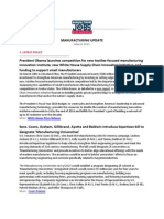 Manufacturing Jobs for America Update - March 2015
