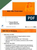 802.16e Standard Presentation