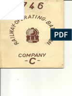 746th Railway Operating Battalion Co C directory/ roster
