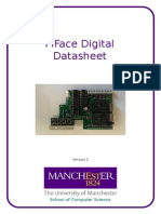 Pi Face Digital Data Sheet
