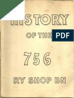 756 th Railway Shop Battalion Unit History