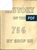 756 th Railway Shop Battalion Unit History
