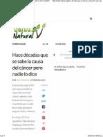 Hace décadas que se sabe la causa del cáncer pero nadie lo dice _ Salud Natural.pdf