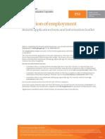 Pss Form SR1 Cease Employment