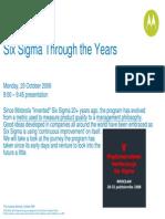 6 Sigma Motorola